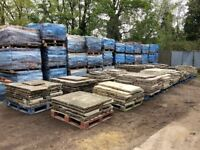 QUALITY GENUINE FOOTWORN RECLAIMED YORKSTONE FLAGS - LARGE STOCK