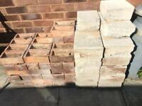 Breeze blocks and house bricks
