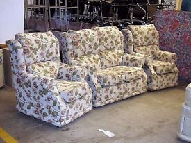 Two seater and two chair sofa suite. Immaculate condition