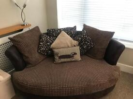 Sofa chair and foot stall