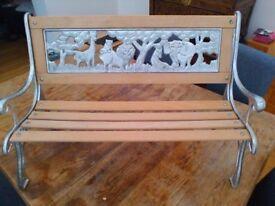 Childrens bench