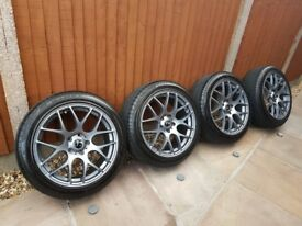 Fox Motoraports alloy wheels and tyres. 6 weeks old
