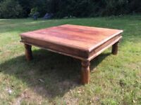 Solid 3ft 3in Indian-style coffee table