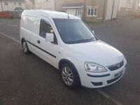 White Vauxhall Combo Van For Sale