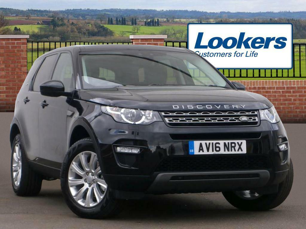 Land Rover Discovery Sport Td4 Se Tech Black 2016 03 30