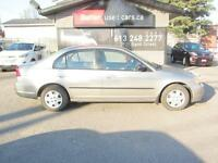 2003 Honda Civic DX Sedan 4-spd AT with Front Side Airbags