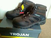 Mens steel toecap safety boots