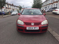 2004 VW GOLF - VERY GOOD CONDITION - VERY LOW GENUINE MILEAGE ONLY 94K - VERY CHEAP ONLY £1100!!