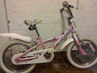 """Girls Trek mystic bike, 16"""" wheels"""