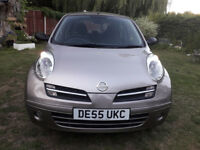 NISSAN MICRA 1.2 AUTOMATIC 5DOOR, 53000 MILES,NEW MICHELIN TYRES, EXCELLENT CONDITION