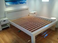 King size double bed with 2 side tables