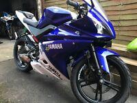 Yamaha YZF R125 - big bore 180cc