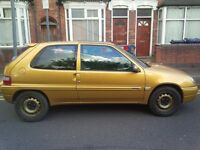 Citroen saxo - no mot, no insurance, no tax - quick sale