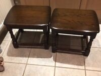 Ercol small side tables