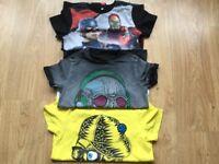 Boys M&S T-Shirt Age 9-10