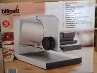 New and boxed - Ideal for christmas Bifinett Meat Slicer KH150