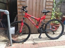 Reebok energy 21-speed Alloy Full Suspension Cycle
