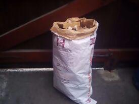 Bag of sticks kindling