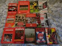 Aberdeen football Club books x 13 Used but still in good condition