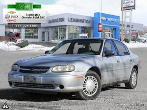 2003 Chevrolet Malibu LOCALLY OWNED, BASE MODEL V6 FWD