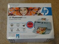 HP PHOTOSMART A526 COMPACT PHOTO PRINTER (NEW NEVER BEEN USED)