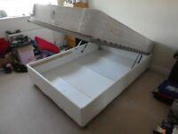 Ikea SULTAN ALSARP double bed divan frame w/ storage (mattress NOT included)