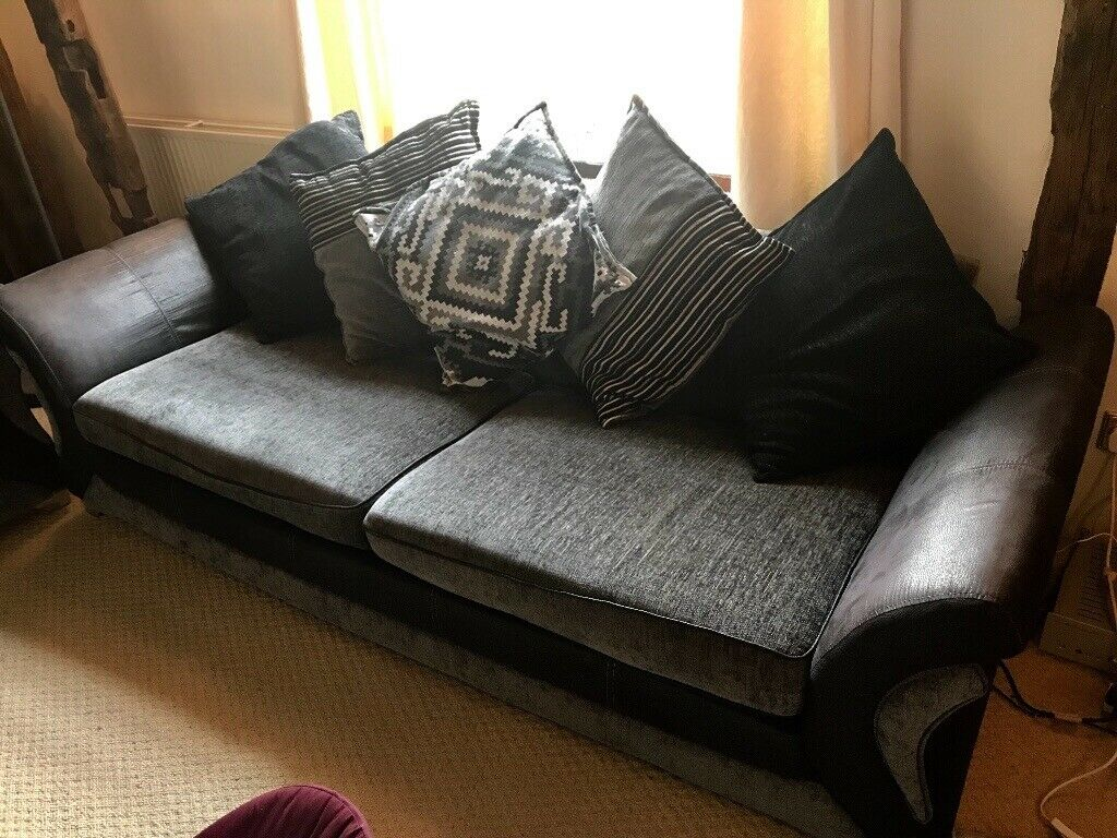 Remarkable Dfs Four Seater Sofa Great Condition 4 Years Old In Eye Suffolk Gumtree Download Free Architecture Designs Xaembritishbridgeorg