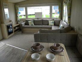 Brand New Luxury Double Glazed Caravan For Sale in South Wales, near Tenby