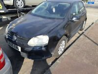 -SPARE OR REPAIR-2005 VOLKSWAGEN GOLF 1.6 PETROL 5DR MANUAL.