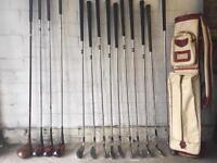 Vintage golf set VIP Jack Nicklaus
