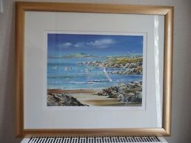 LIMITED EDITION SEA VIEW PICTURES SET OF 4