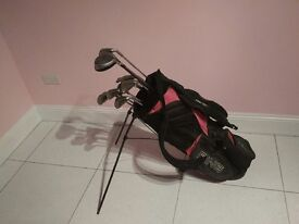 Golf Clubs - Mix Ping & Others 13in Total and Ping Bag