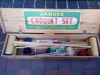 Jaques Croquet Set (VINTAGE)