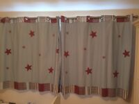 Laura Ashley star curtains