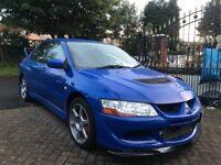 MITSUBISHI EVO VIII GSR FQ260 UK CAR + STUNNING RARE FRENCH BLUE