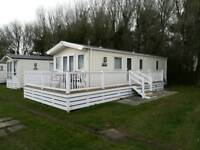 Two bedroomed static caravan on one of the premier holiday parks on the Hampshire coast