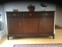 Sideboard Stag Minstrel good quality sturdy furniture item in good condition