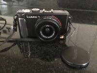Panasonic Lumix Compact Camera DMC-LX3 with Leather Case & Accessories