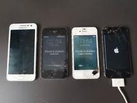 Mobile phone bundle - spares/repair