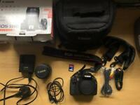 Canon 550D SLR Camera with 18-55 lens
