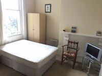 SB Lets are delighted to offer a large fully furnished studio flat for short term let