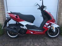 Peugeot Speedfight 3 125cc Red