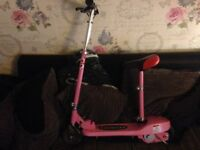 Pink electric scooter for sale