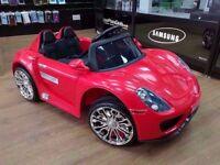 PORSCHE GT KIDS ELECTRIC RIDE ON CAR BRAND NEW
