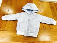 Absorba baby blue light weight jacket age 2