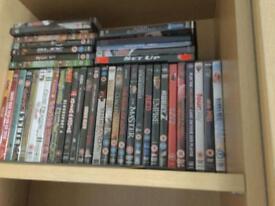 38 dvds for sale job lot