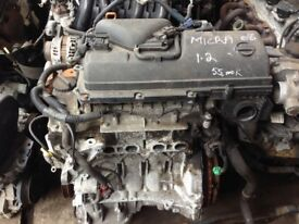 NISSAN MICRA K12 1.0 PETROL ENGINE CG10DE