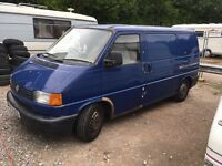 Breaking vw t4