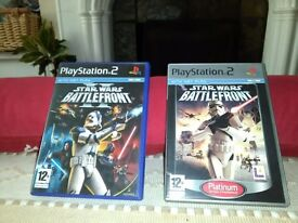 PS2 Star wars Games