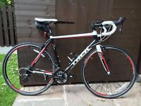 Trek 1.2 series road bike, hardly used and in excellent condition